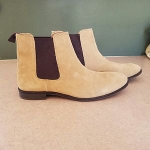ASOS/ men's faux suede ankle boots